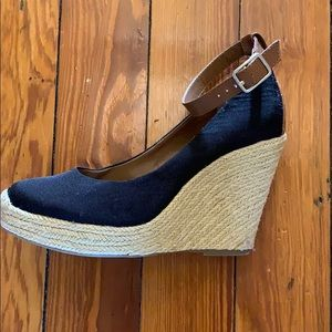 Bcbgeneration wedges with ankle strap